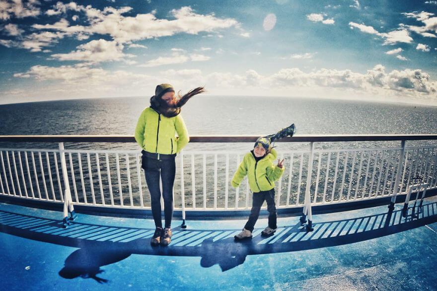No ferry boat entre Tallin (Estónia) e Helsínquia (Filândia)