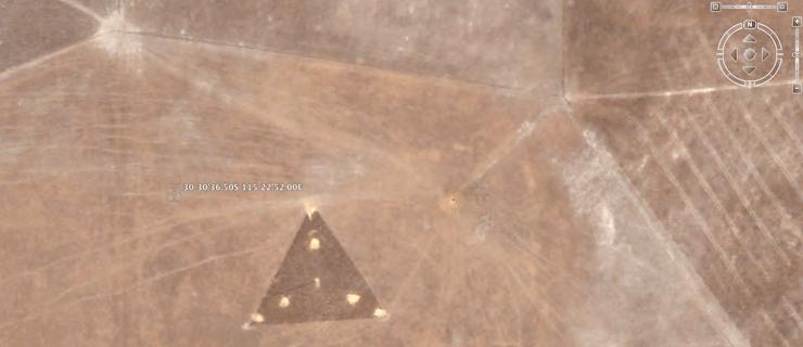 australia ufo google