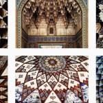 O Instagram que lhe mostra tetos de mesquitas no Irão