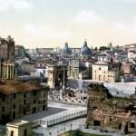 Veja aqui como era a cidade de Roma no final do século XIX