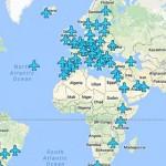As passwords Wi-fi de todos os aeroportos do mundo estão neste mapa