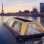 Paris Navigating Gym: um ginásio flutuante no Rio Sena