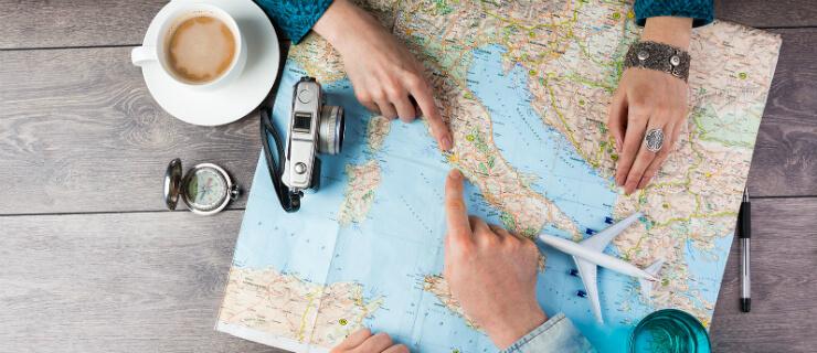 planear férias