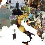 Um mapa que nos mostra a arte europeia em cada país do Velho Continente