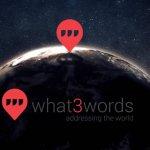 What3Words: e se a nossa morada pudesse ser resumida a 3 palavras?