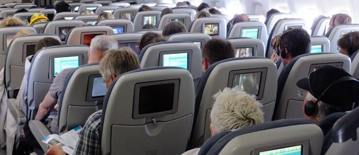 entretenimento dos voos