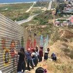 Uma mensagem de paz em vez de um muro entre México e EUA